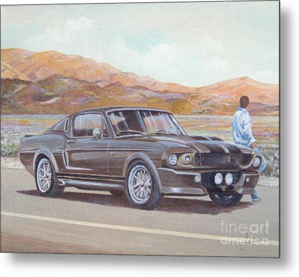 1967 Ford Mustang Fastback Metal Print