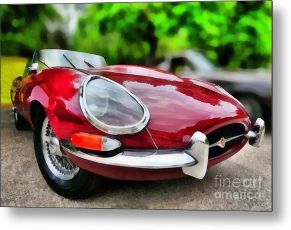 1967 Jaguar E Type Metal Print