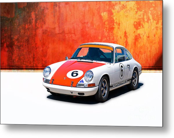1968 Porsche 911 Metal Print