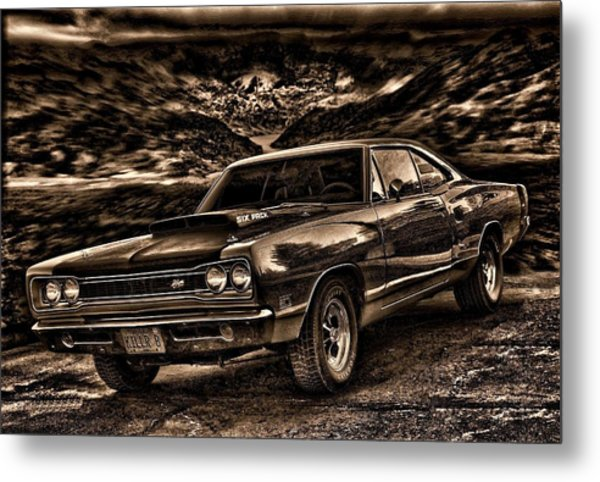 Metal Print featuring the photograph 1969 Dodge Super Bee by Tim McCullough