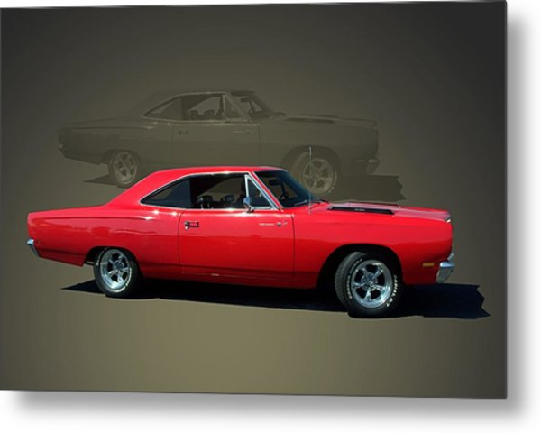 1969 Plymouth 440 Roadrunner Metal Print