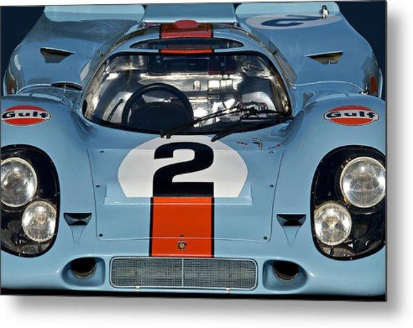 1969 Porsche 911 917k Metal Print by Dave Koontz