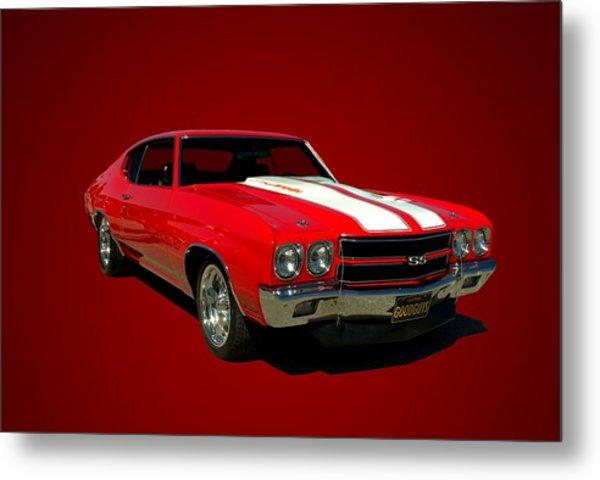1970 Chevelle Super Sport Metal Print