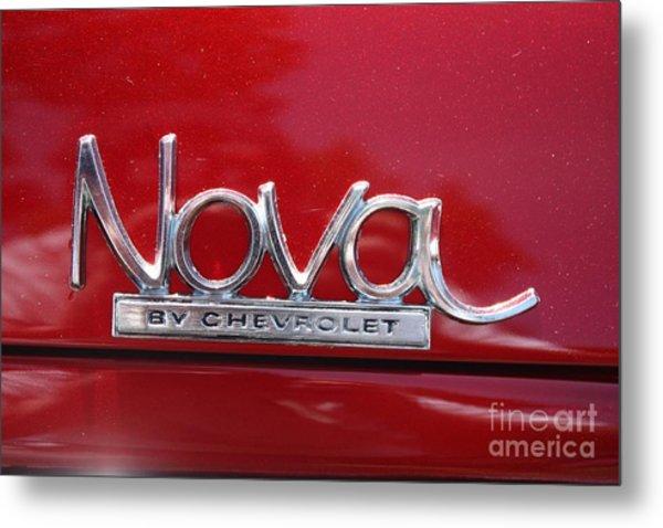 1970 Chevy Nova Logo Metal Print