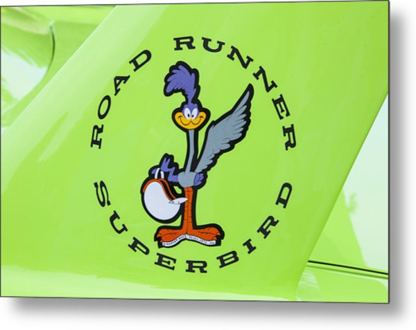 1970 Plymouth Superbird Roadrunner Metal Print