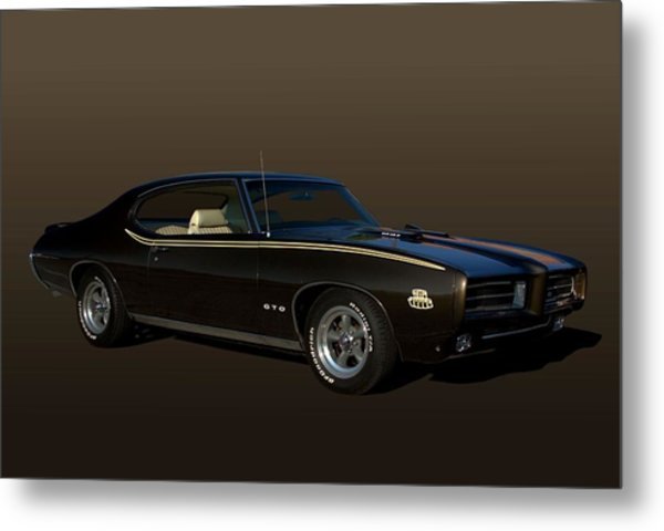 Metal Print featuring the photograph 1970 Pontiac Gto The Judge by Tim McCullough