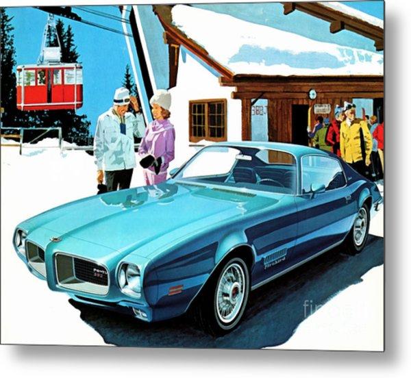 1971 Pontiac Firebird Espirit Metal Print