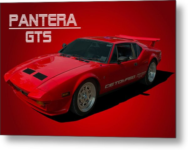 Metal Print featuring the photograph 1973 Detomaso Pantera Gts by Tim McCullough