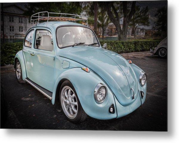 1974 Volkswagen Beetle Vw Bug Metal Print
