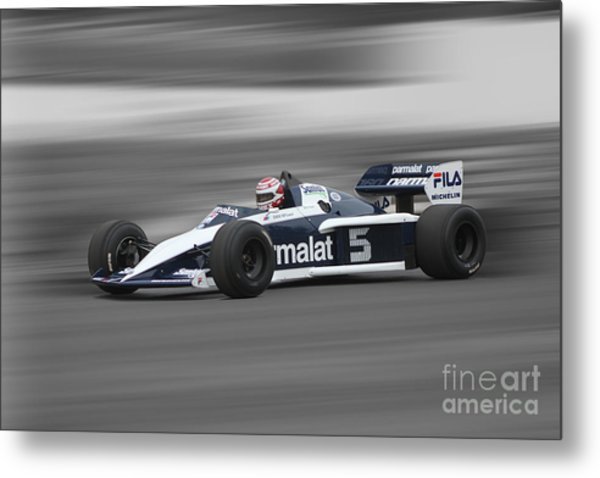 1983 Brabham Bmw Bt52 Metal Print