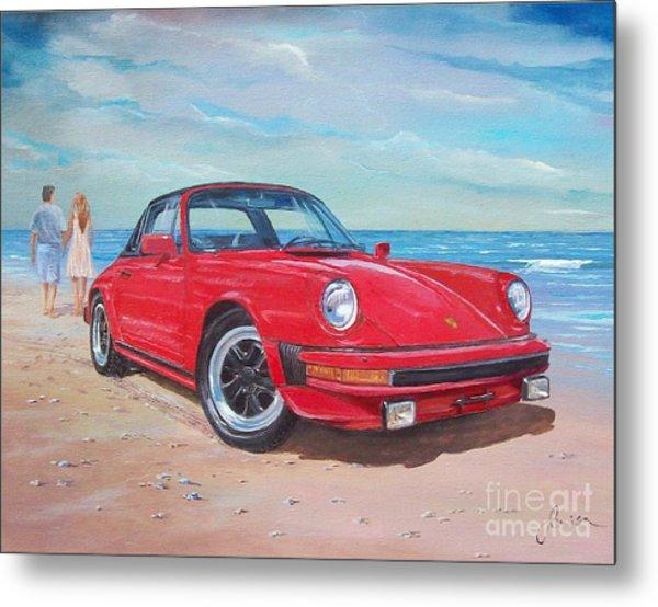 1985 Porsche 911 Targa Metal Print