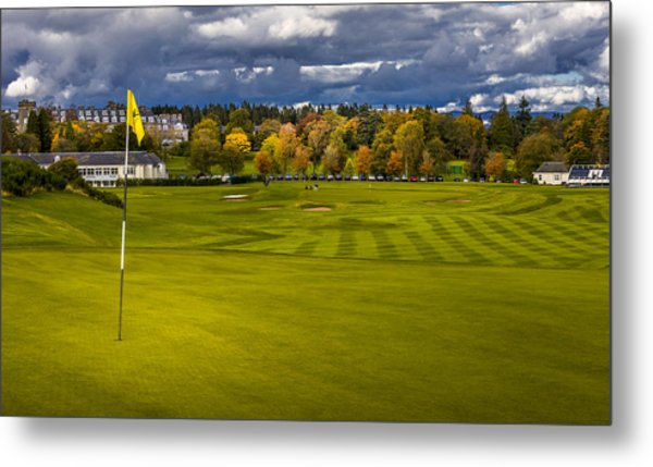 Prints For Sale Kings Golf Course Gleneagles Metal Print