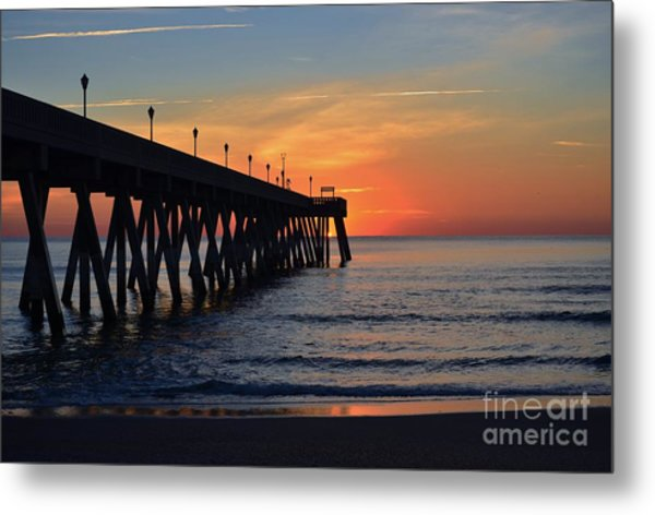 1st Sunrise Of 2015 - 4 Metal Print