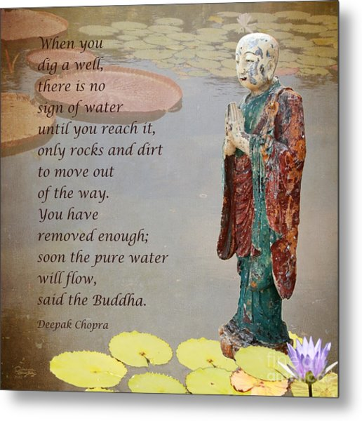 ... Said The Buddha Metal Print