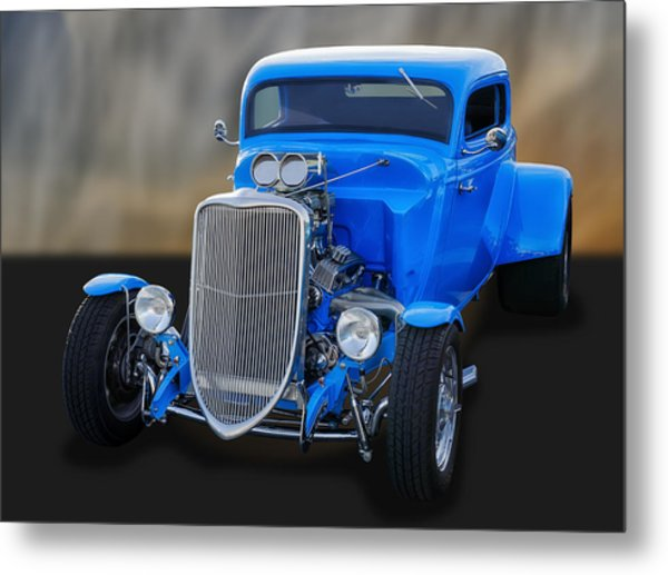 1933 Ford 3-window Coupe   Metal Print