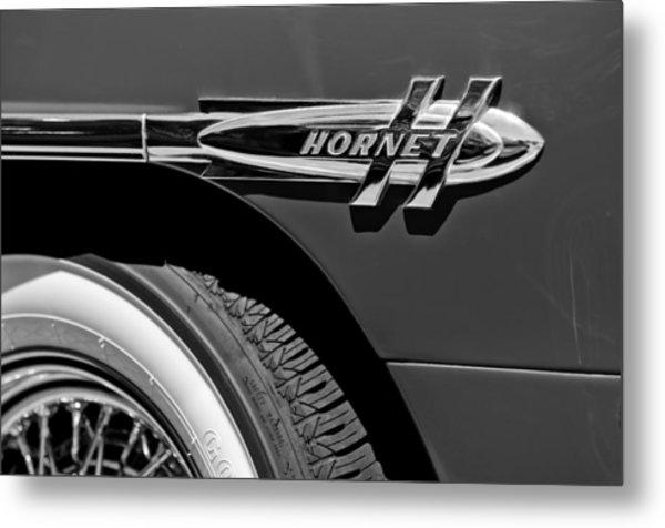 1953 Hudson Hornet Emblem Metal Print