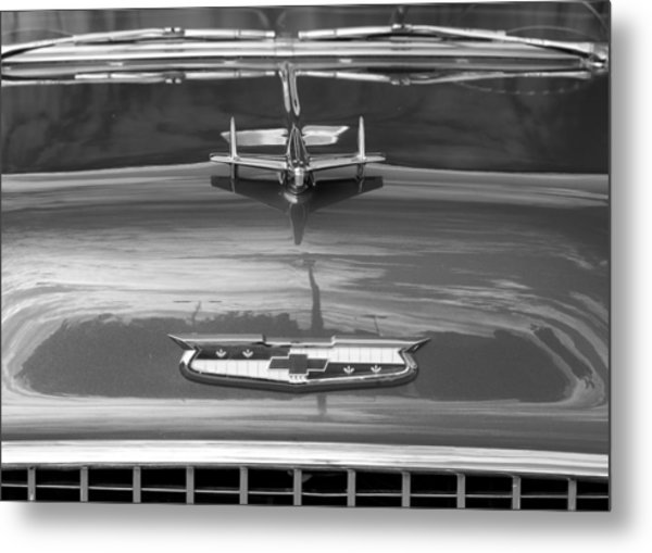 1955 Chevrolet Bel Aire Metal Print
