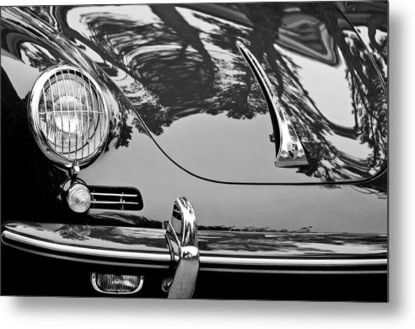 1963 Porsche 356 B Cabriolet Hood Emblem Metal Print