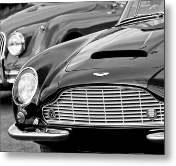 1965 Aston Martin Db6 Short Chassis Volante Metal Print