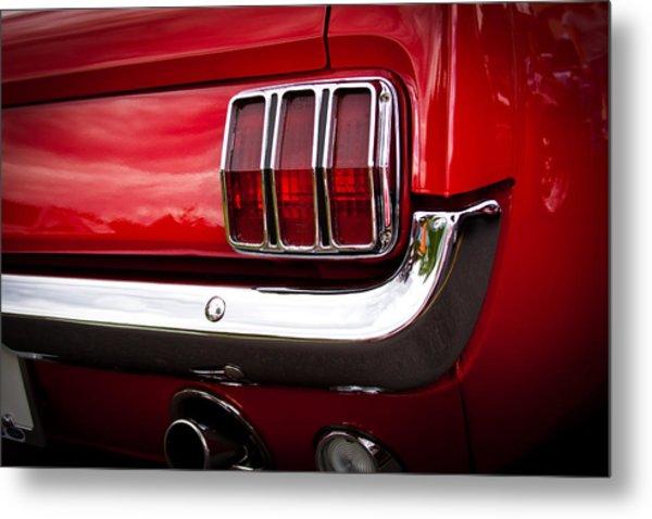 1966 Ford Mustang Metal Print