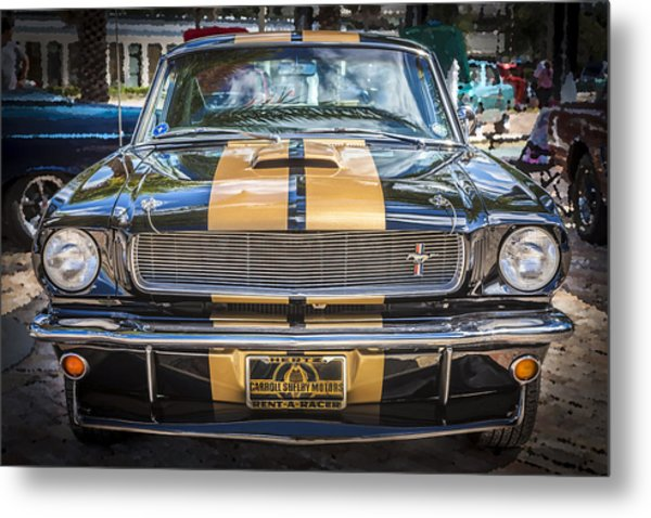 1966 Ford Shelby Mustang Hertz Edition  Metal Print
