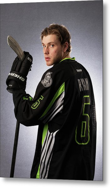 2015 Honda Nhl All-star Portraits Metal Print by Gregory Shamus