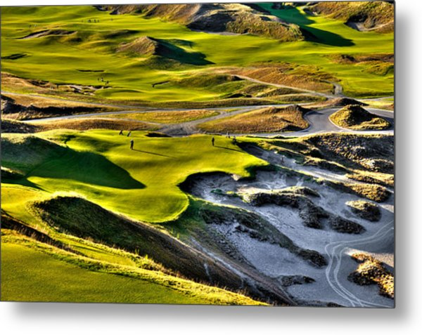 #9 At Chambers Bay Golf Course Metal Print
