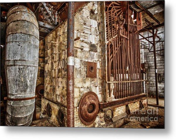 Abandoned Steam Plant Metal Print