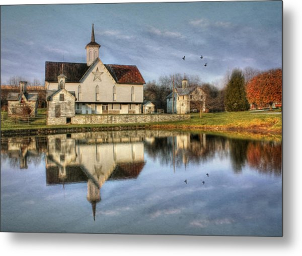 Afternoon At The Star Barn Metal Print