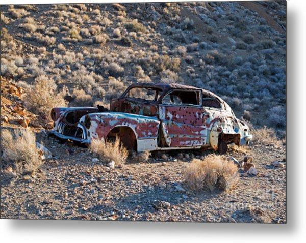 Aguereberry Camp Death Valley National Park Metal Print