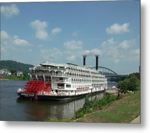 American Queen Metal Print by Willy  Nelson