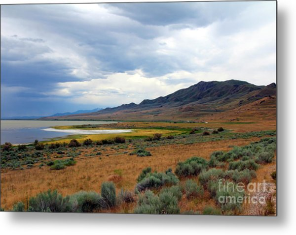 Metal Print featuring the photograph Antelope Island by Jemmy Archer