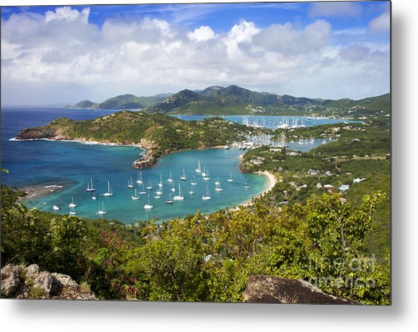 Metal Print featuring the photograph Antigua by Brian Jannsen