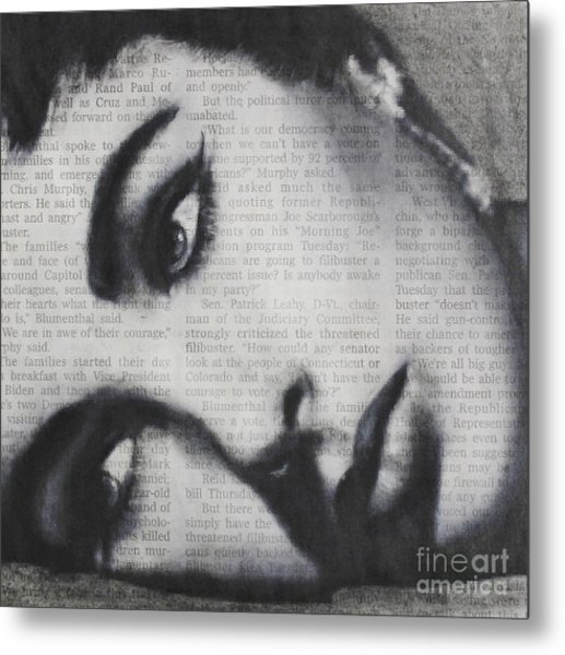 Art In The News 15-elizabeth Metal Print