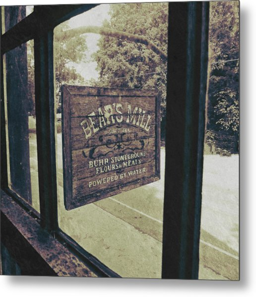Bear's Mill Metal Print