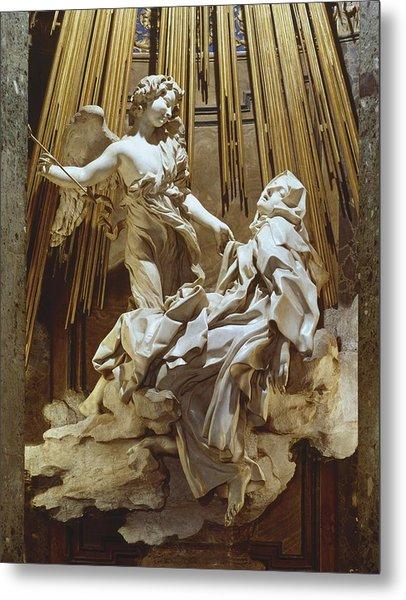 Bernini, Giovanni Lorenzo 1598-1680 Metal Print