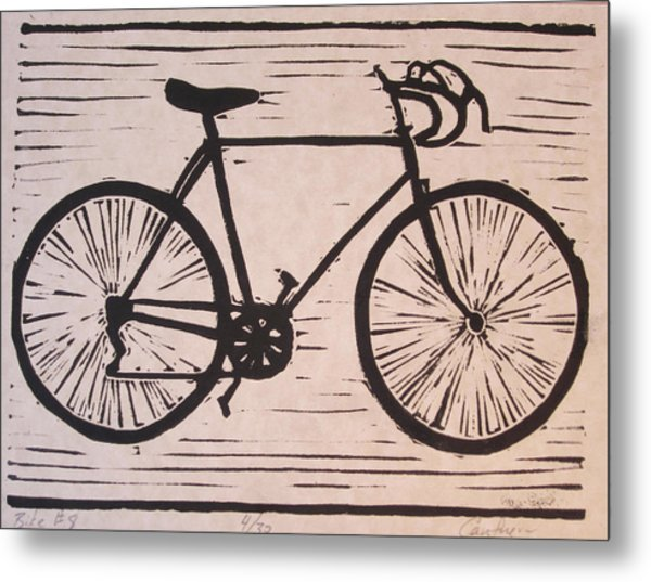 Bike 8 Metal Print by William Cauthern