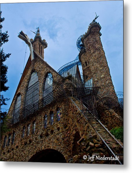 Bishop's Castle Metal Print