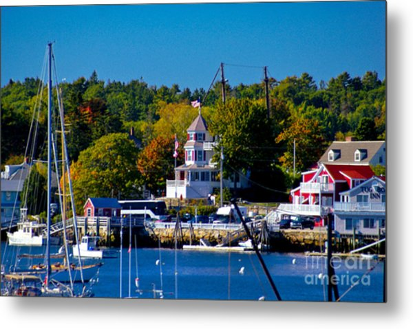 Boothbay Harbor Maine. Metal Print