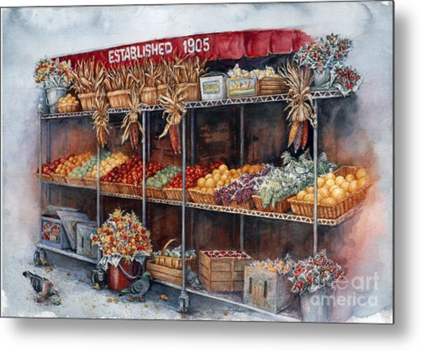 Boston Market Metal Print