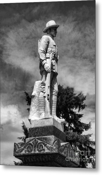 Braidwood  War Memorial Metal Print
