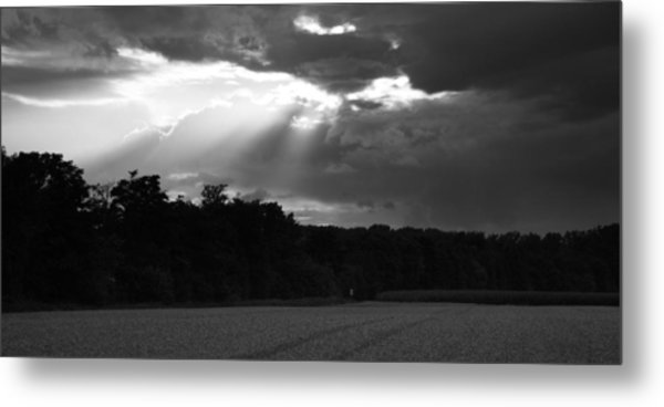 Breaking Storm Metal Print