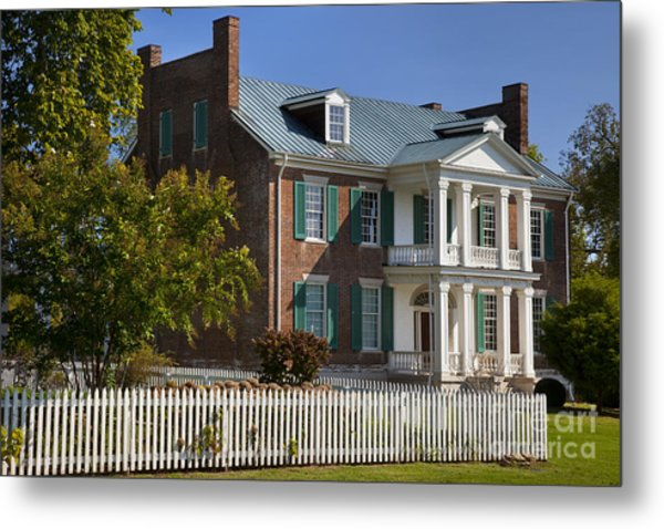Metal Print featuring the photograph Carnton Plantation by Brian Jannsen