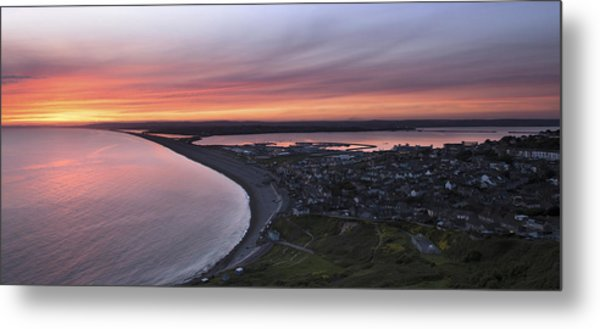 Chesil Beach  Metal Print by Ollie Taylor
