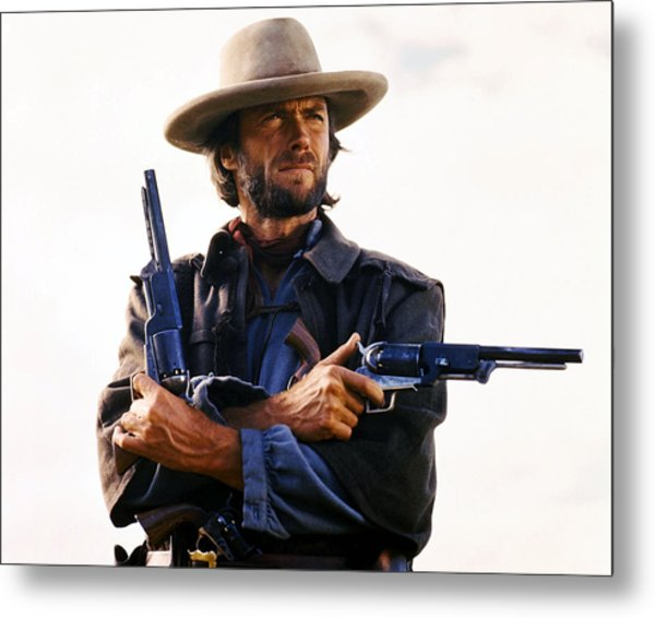 Clint Eastwood In The Outlaw Josey Wales  Metal Print