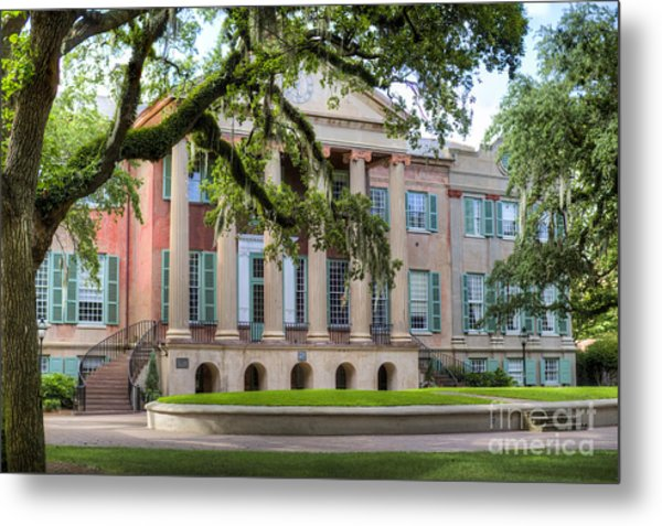 College Of Charleston Randolph Hall Metal Print