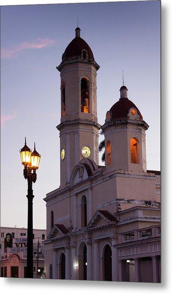 Cuba, Cienfuegos Province, Cienfuegos Metal Print