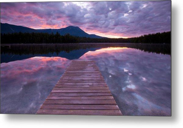 Daicey Pond Sunrise Metal Print