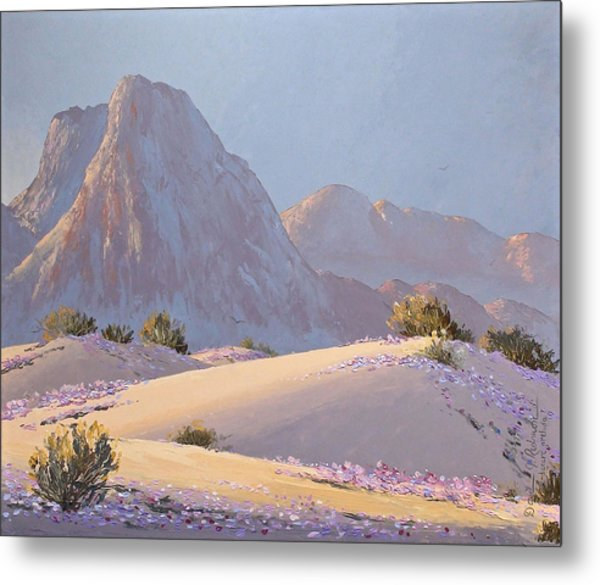 Desert Prelude Metal Print