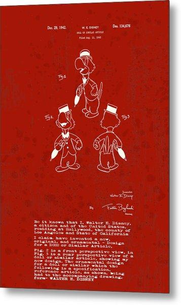 Disney Jose Carioca Metal Print